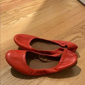 Red Flats Size 7 Lucky Brand